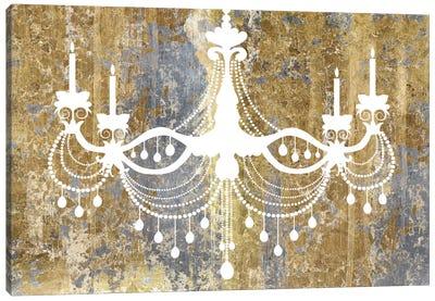 Gilded Chandelier Canvas Art Print