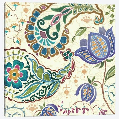 Peacock Fantasy V  Canvas Print #WAC397} by Daphne Brissonnet Art Print