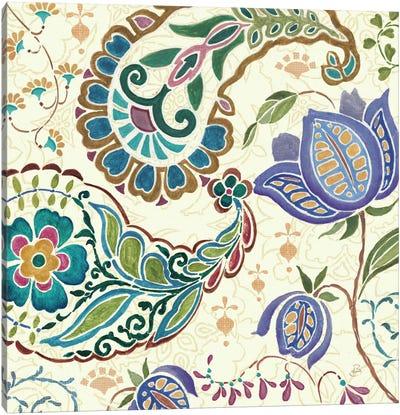 Peacock Fantasy V  Canvas Art Print