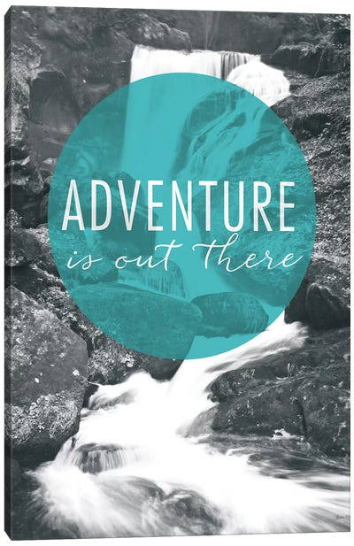 Adventure is Out There Canvas Art Print