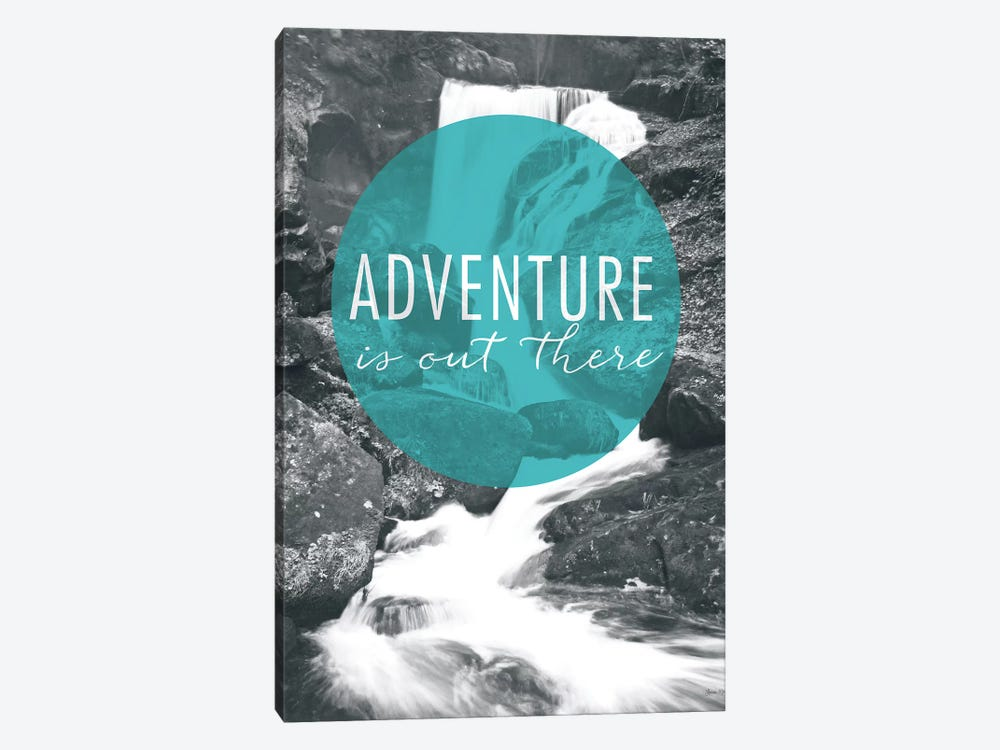 Adventure is Out There by Laura Marshall 1-piece Canvas Wall Art