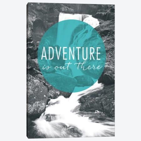 Adventure is Out There Canvas Print #WAC3988} by Laura Marshall Canvas Print