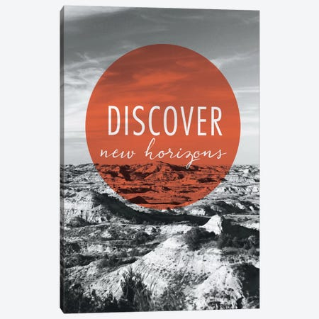 Discover New Horizons Canvas Print #WAC3989} by Laura Marshall Art Print