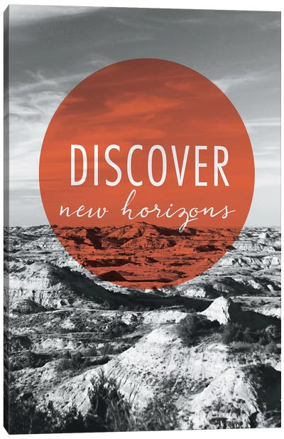 Discover New Horizons Canvas Art Print