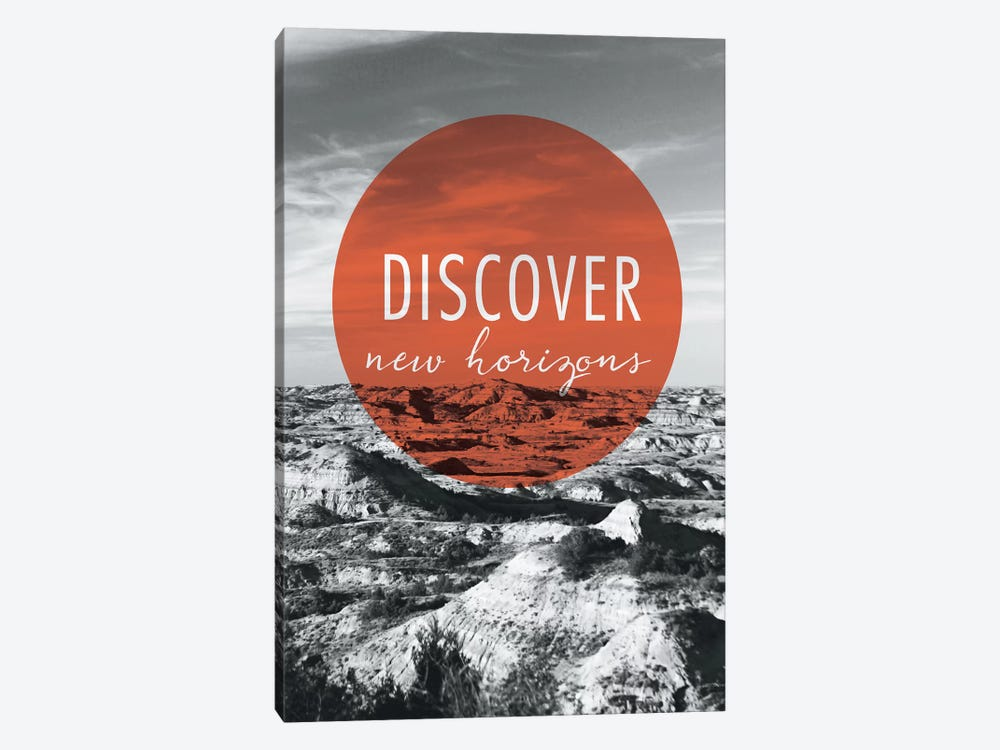 Discover New Horizons 1-piece Canvas Art Print