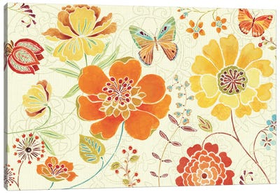 Spice Bouquet I  Canvas Print #WAC398