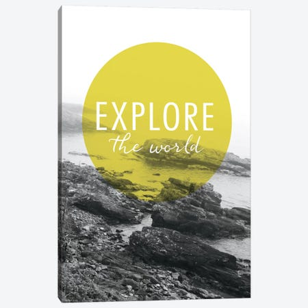 Explore the World Canvas Print #WAC3990} by Laura Marshall Canvas Wall Art