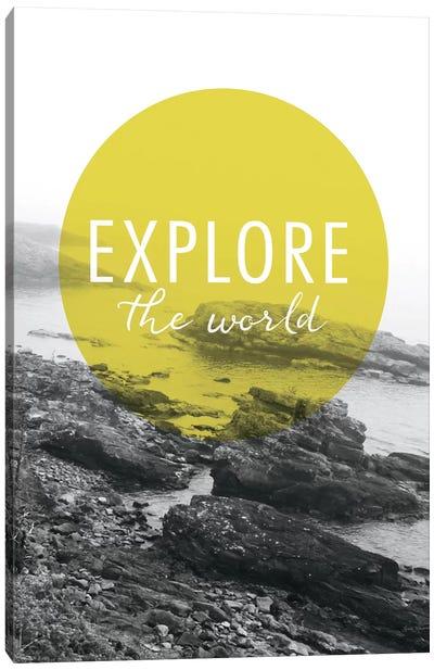 Explore the World Canvas Art Print