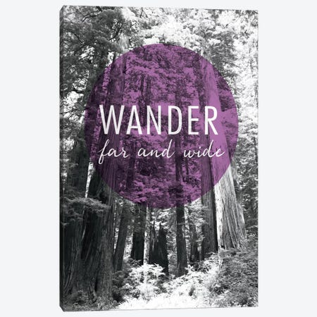 Wander Far and Wide Canvas Print #WAC3991} by Laura Marshall Canvas Wall Art