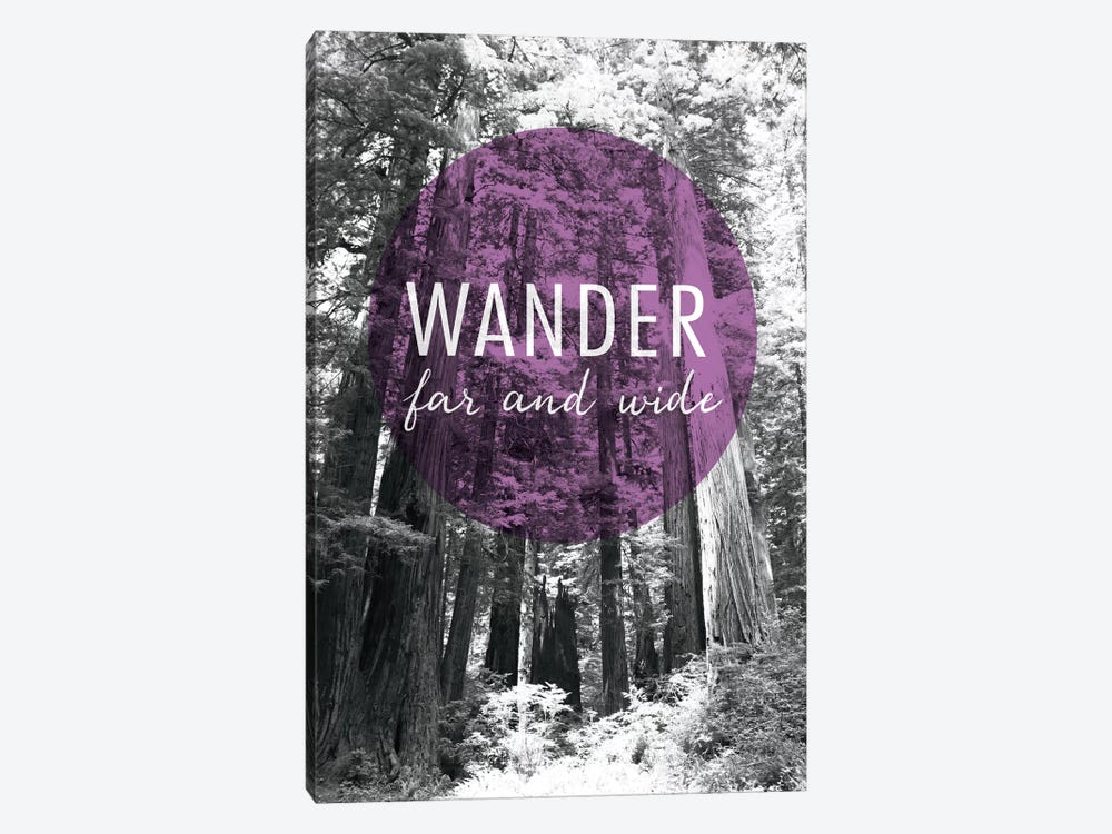 Wander Far and Wide by Laura Marshall 1-piece Canvas Wall Art