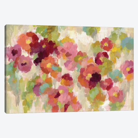 Coral and Emerald Garden I Canvas Print #WAC3994} by Silvia Vassileva Art Print