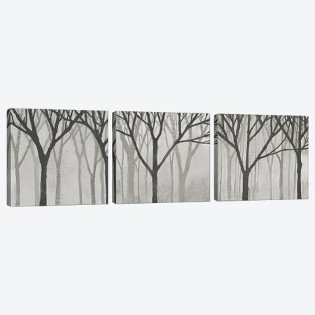 Spring Trees Greystone Triptych Canvas Print Set #WAC3HSET107} by Kathrine Lovell Canvas Wall Art