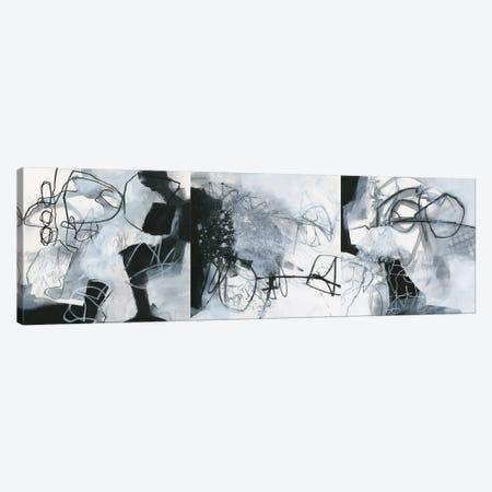 What's Happening Triptych Canvas Print Set #WAC3HSET108} by Jane Davies Canvas Print