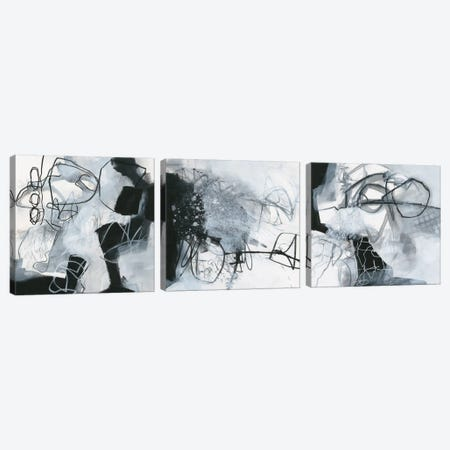 What's Happening Triptych Canvas Print Set #WAC3HSET108} by Jane Davies Canvas Print