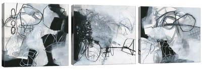 What's Happening Triptych Canvas Art Print