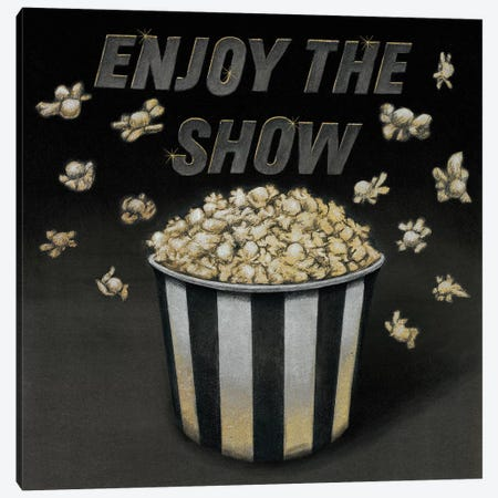 Enjoy the Show Canvas Print #WAC4000} by Wild Apple Portfolio Canvas Art Print