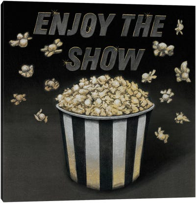 Enjoy the Show Canvas Art Print