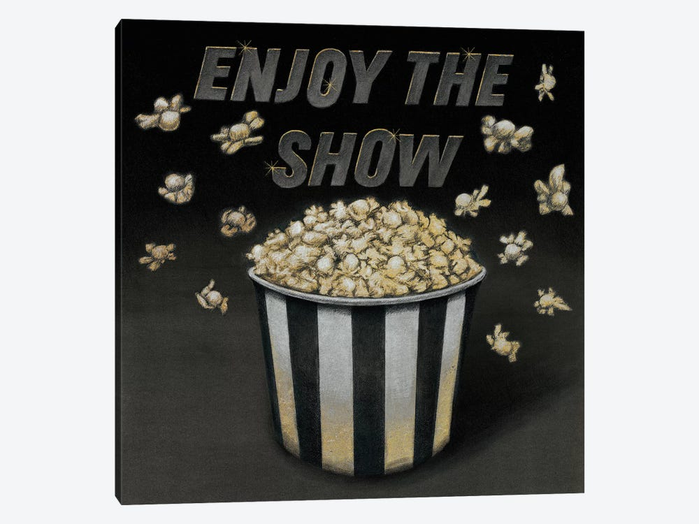 Enjoy the Show by Wild Apple Portfolio 1-piece Canvas Wall Art