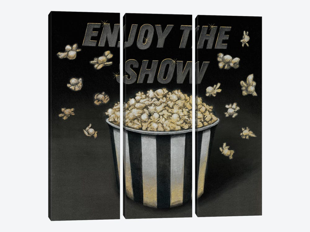 Enjoy the Show by Wild Apple Portfolio 3-piece Canvas Wall Art