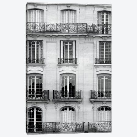 Across The Street I Canvas Print #WAC4010} by Laura Marshall Canvas Art