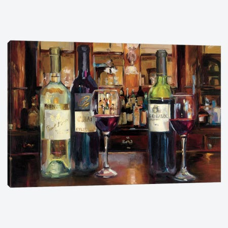 A Reflection Of Wine Canvas Print #WAC4012} by Marilyn Hageman Canvas Art