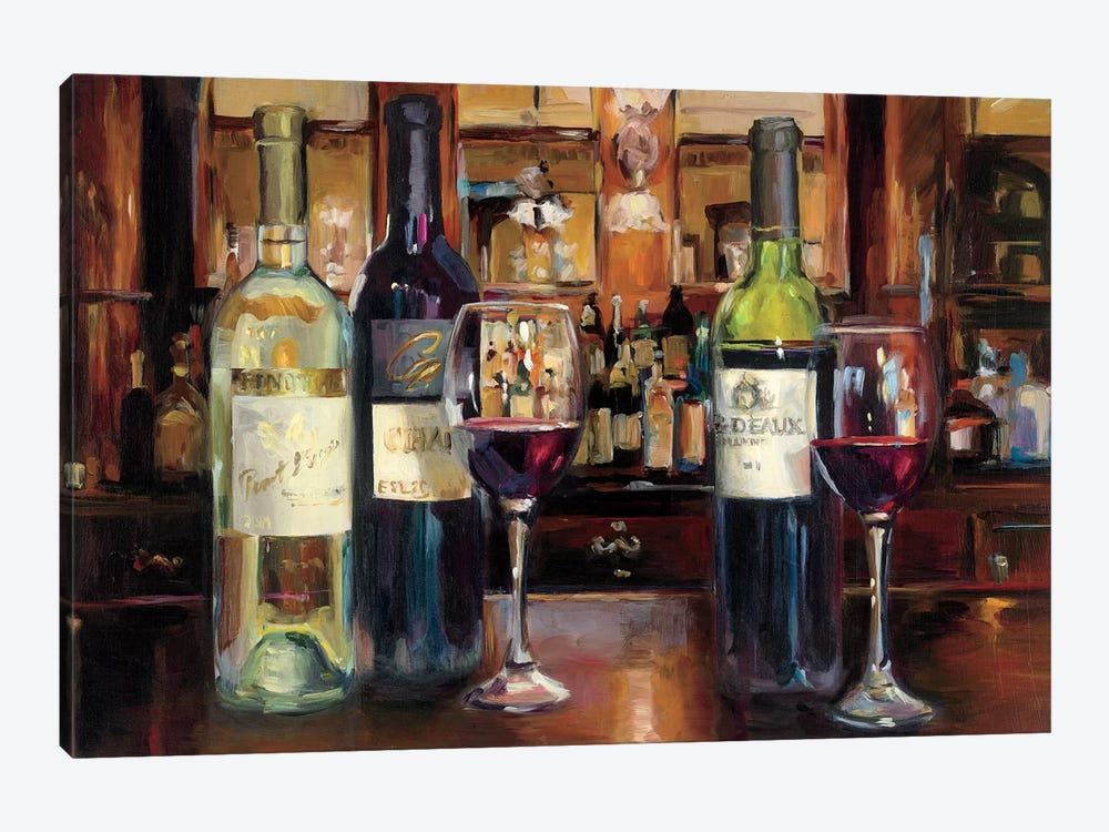 A Reflection Of Wine by Marilyn Hageman 1-piece Art Print