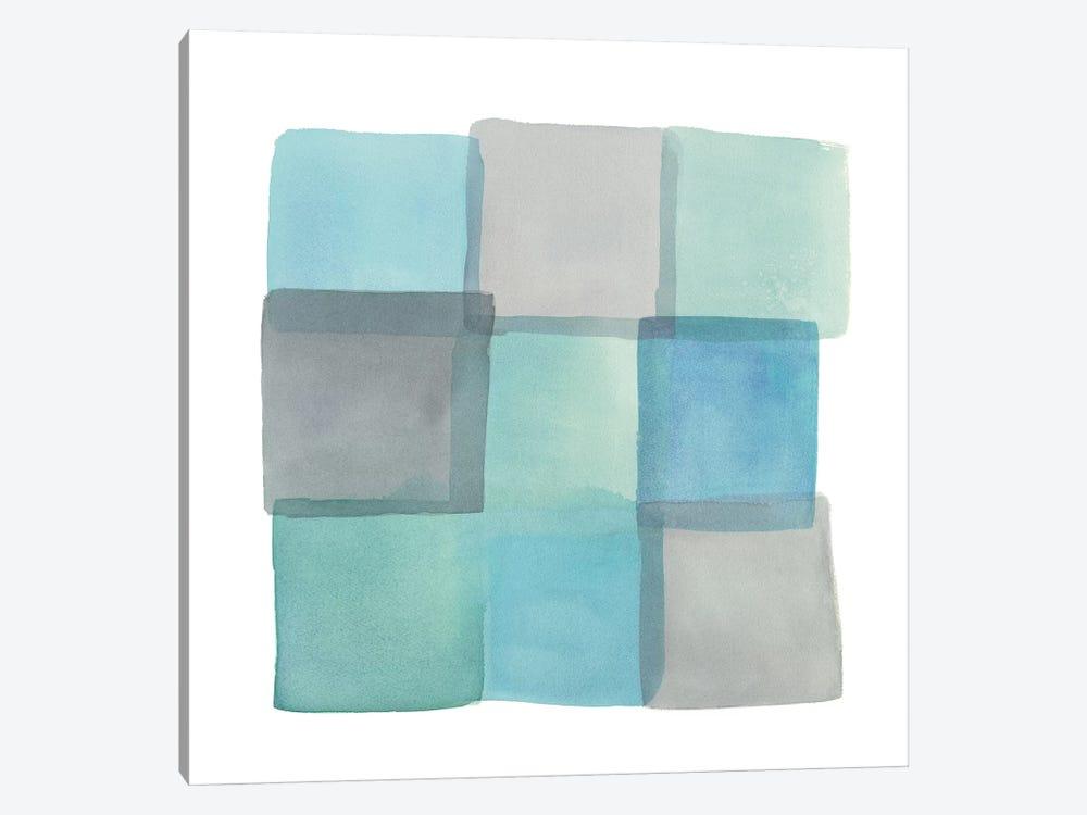 Overlap II by Mike Schick 1-piece Canvas Art Print