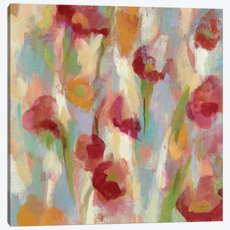 Breezy Floral II Canvas Print #WAC4015} by Silvia Vassileva Canvas Art Print