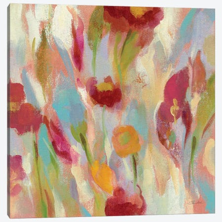 Breezy Floral III Canvas Print #WAC4016} by Silvia Vassileva Canvas Art Print
