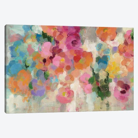 Colorful Garden I Canvas Print #WAC4017} by Silvia Vassileva Canvas Art Print