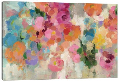 Colorful Garden I Canvas Art Print