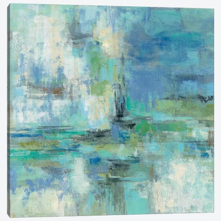 Morning Port Canvas Print #WAC4018} by Silvia Vassileva Canvas Artwork