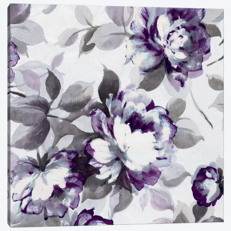 Scent Of Plum Roses II Canvas Print #WAC4023} by Wild Apple Portfolio Canvas Art Print