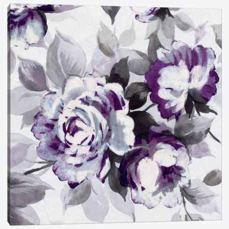 Scent Of Plum Roses III Canvas Print #WAC4024} by Wild Apple Portfolio Canvas Artwork