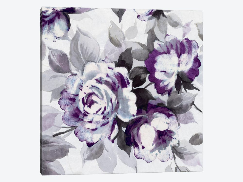 Scent Of Plum Roses III by Wild Apple Portfolio 1-piece Canvas Wall Art