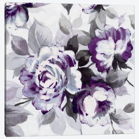 Scent Of Plum Roses III Canvas Print #WAC4024} by Wild Apple Portfolio Canvas Artwork