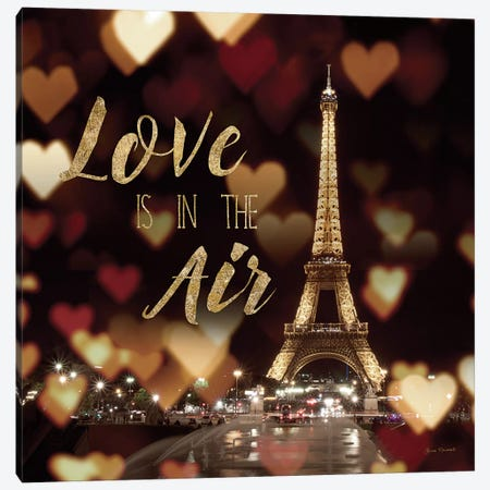 Love Is In The Air Canvas Print #WAC4039} by Laura Marshall Canvas Wall Art