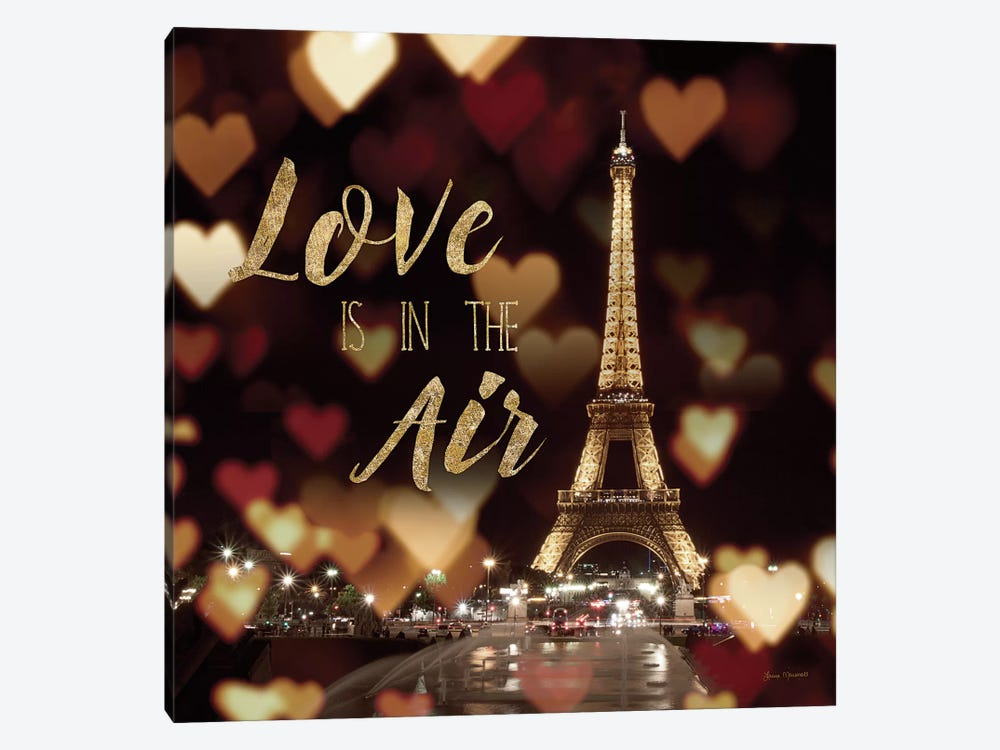 Love Is In The Air by Laura Marshall 1-piece Canvas Artwork