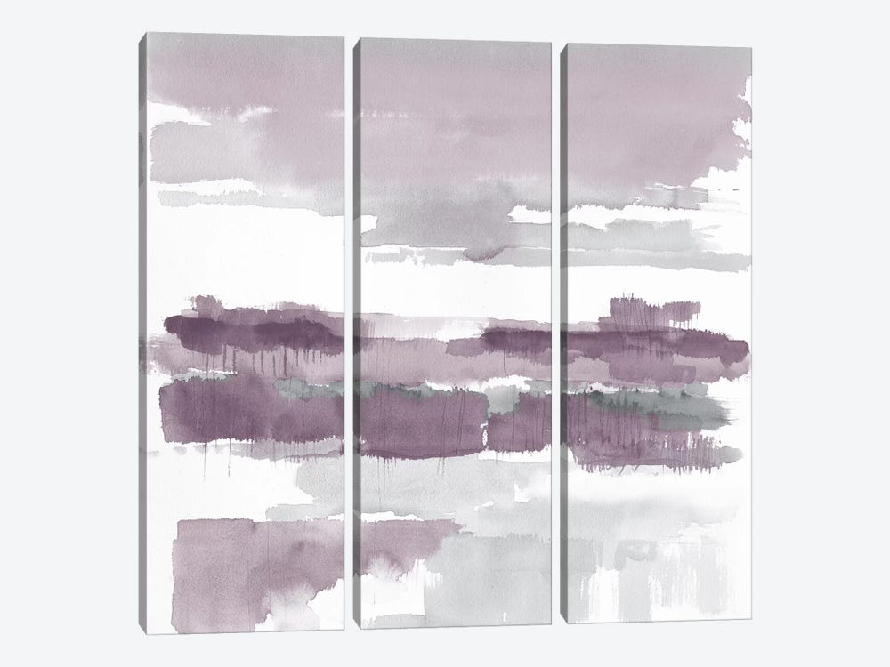 Amethyst Wetlands by Mike Schick 3-piece Canvas Print