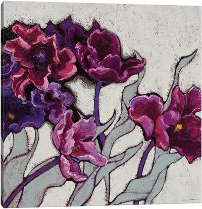 Ruffled Tulips Canvas Print #WAC4046