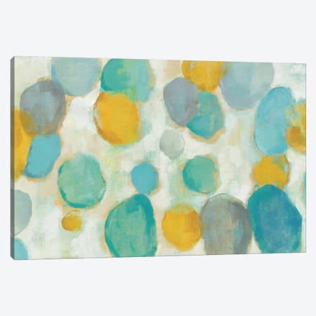 Painted Pebbles Canvas Print #WAC4047} by Silvia Vassileva Canvas Wall Art