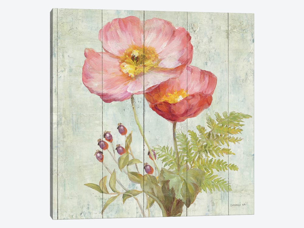 Natural Floral IV by Danhui Nai 1-piece Canvas Art Print