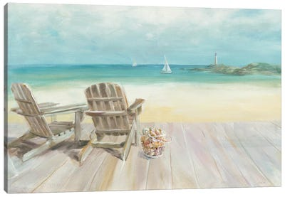 Seaside Morning No Window Canvas Art Print
