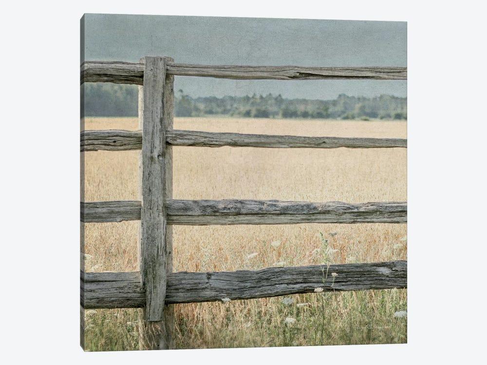 Neutral Country I Crop by Elizabeth Urquhart 1-piece Canvas Art Print