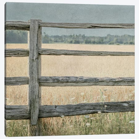 Neutral Country I Crop 3-Piece Canvas #WAC4056} by Elizabeth Urquhart Art Print