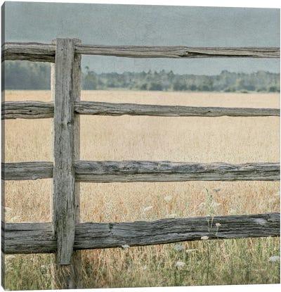 Neutral Country I Crop Canvas Art Print