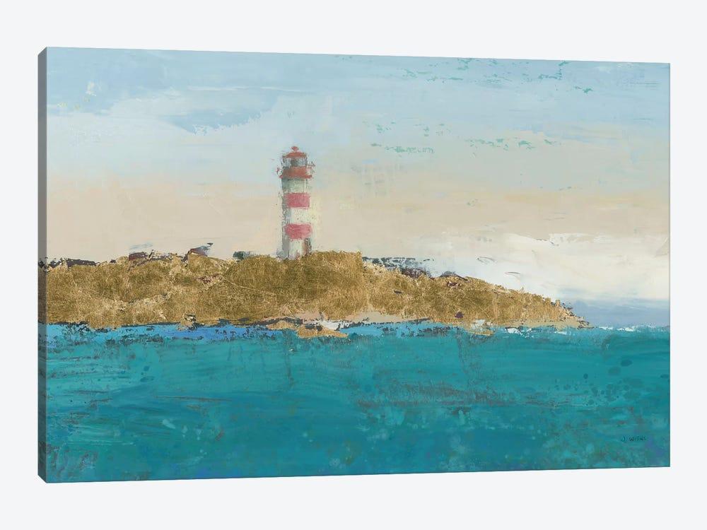 Lighthouse Seascape I Crop II by James Wiens 1-piece Canvas Artwork