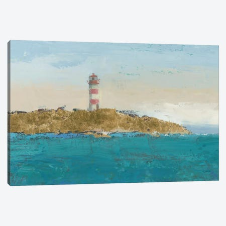 Lighthouse Seascape I Crop II Canvas Print #WAC4060} by James Wiens Canvas Print