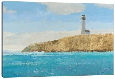 Lighthouse Seascape II Crop II Canvas Art Print