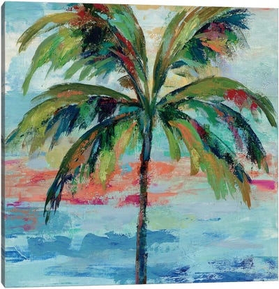 California Palm I Canvas Art Print
